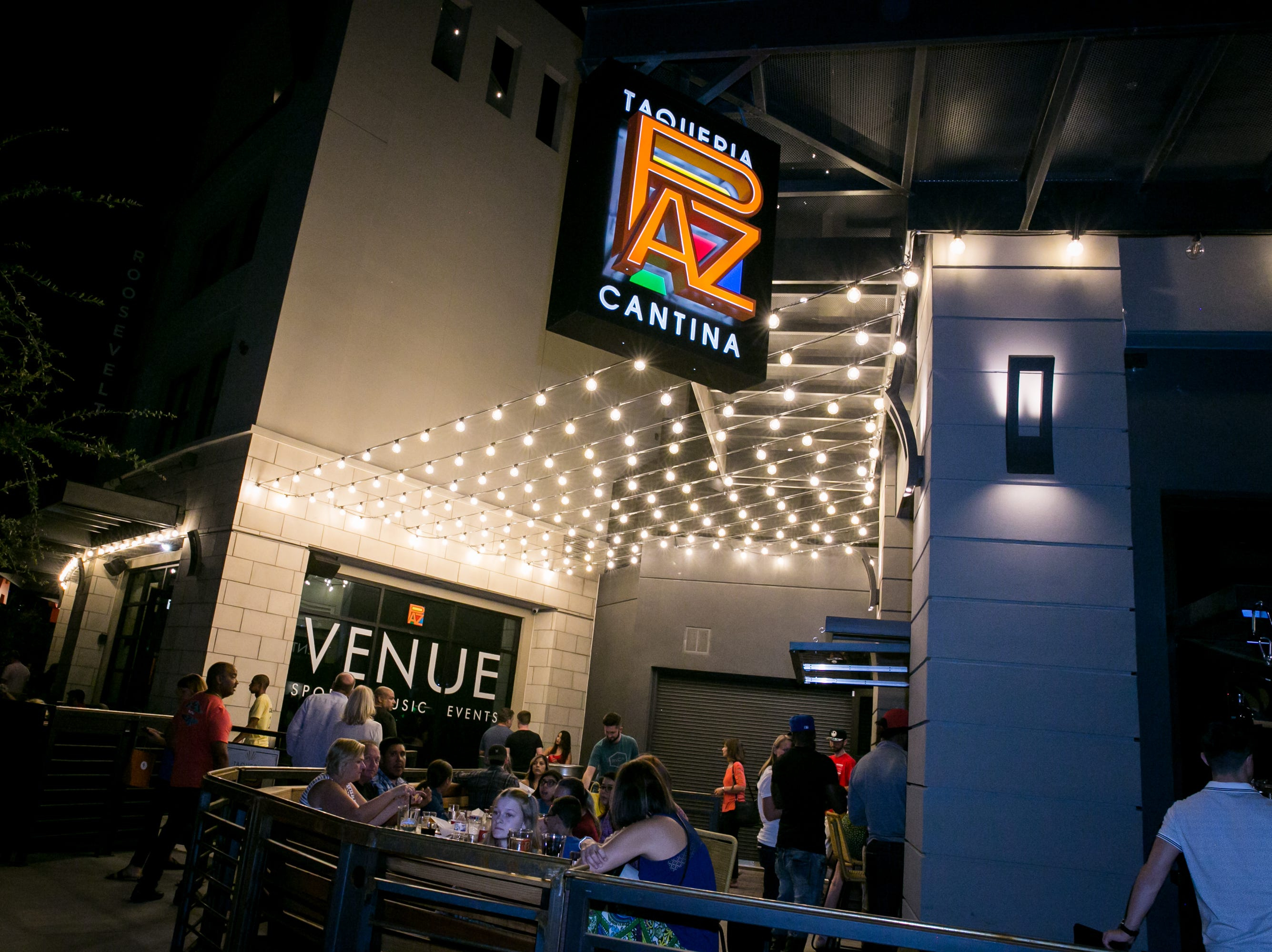 Paz Cantina was a fun hang out spot during First Friday on October 5, 2018.