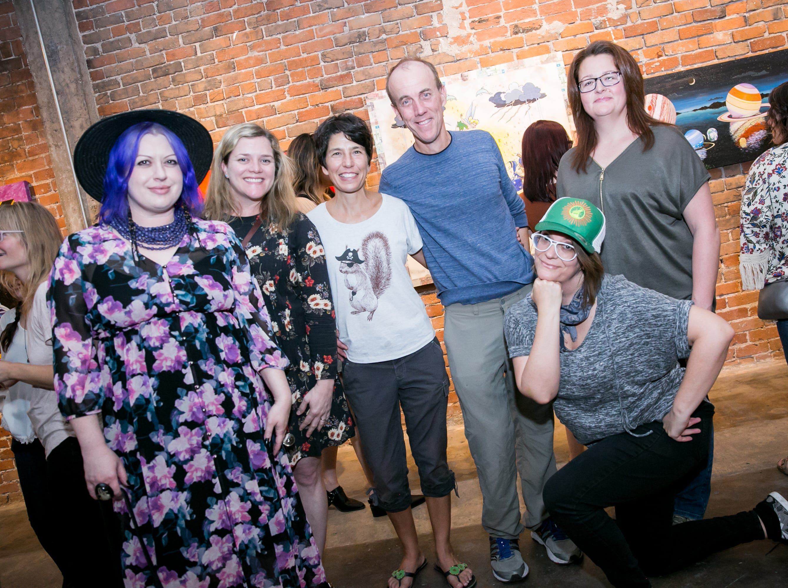 This group had fun at Chaos Theory 19 at Legend City Studios during First Friday on October 5, 2018.