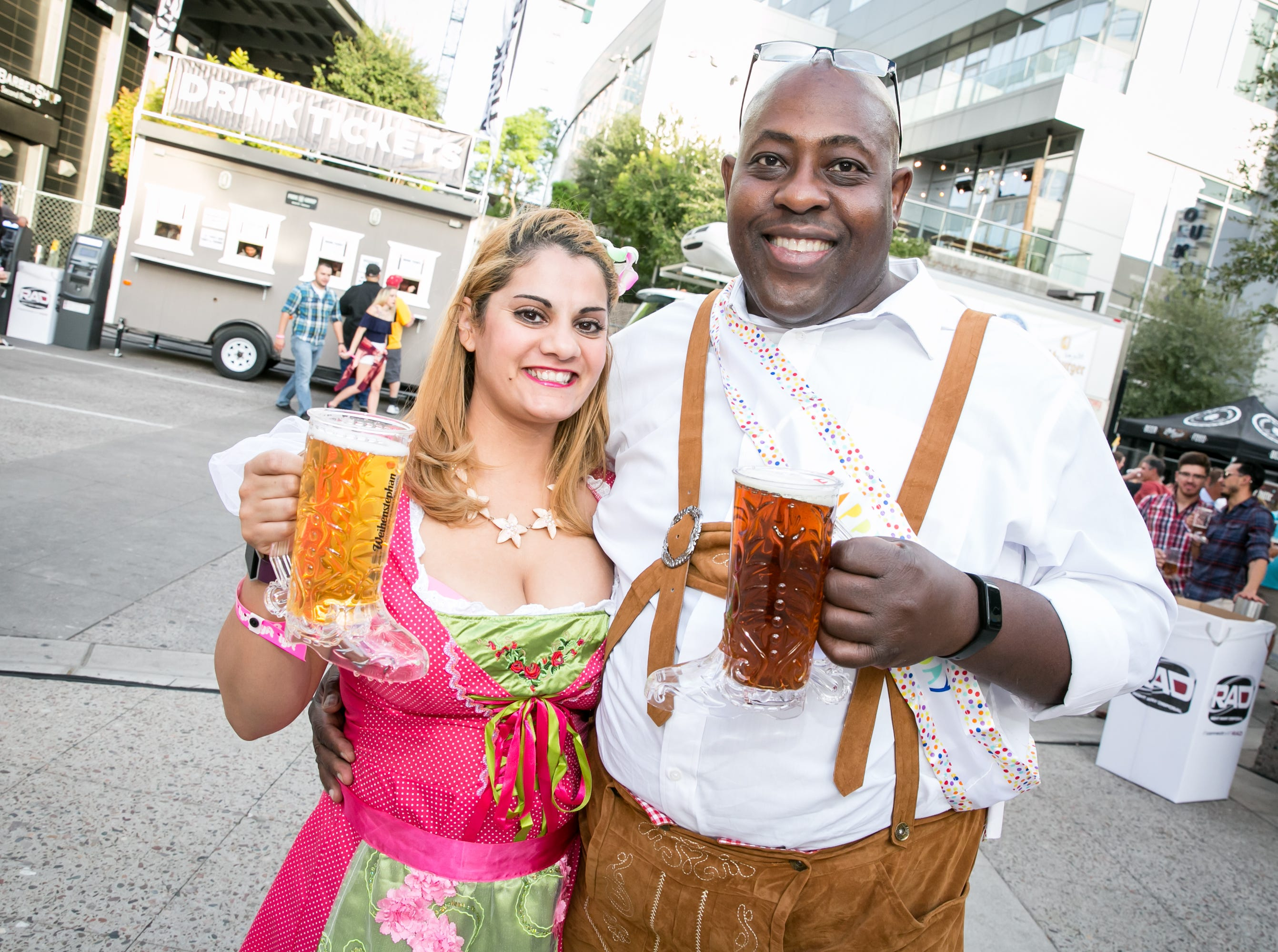 These two looked phenomenal during Downtown Phoenix Oktoberfest at CityScape on Saturday, October 6, 2018.
