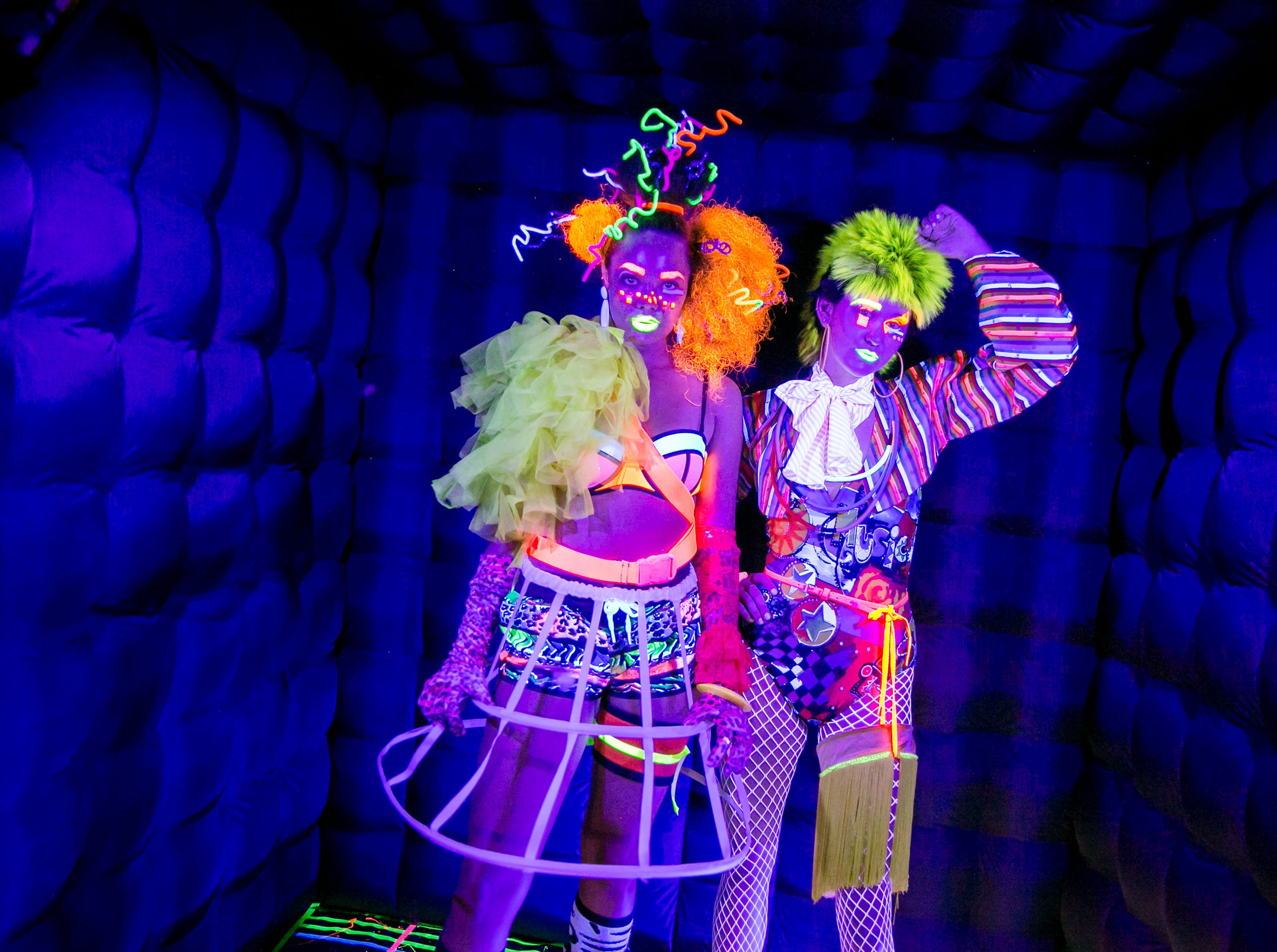 These performance artists were fun to wath at Chaos Theory 19 at Legend City Studios during First Friday on October 5, 2018.