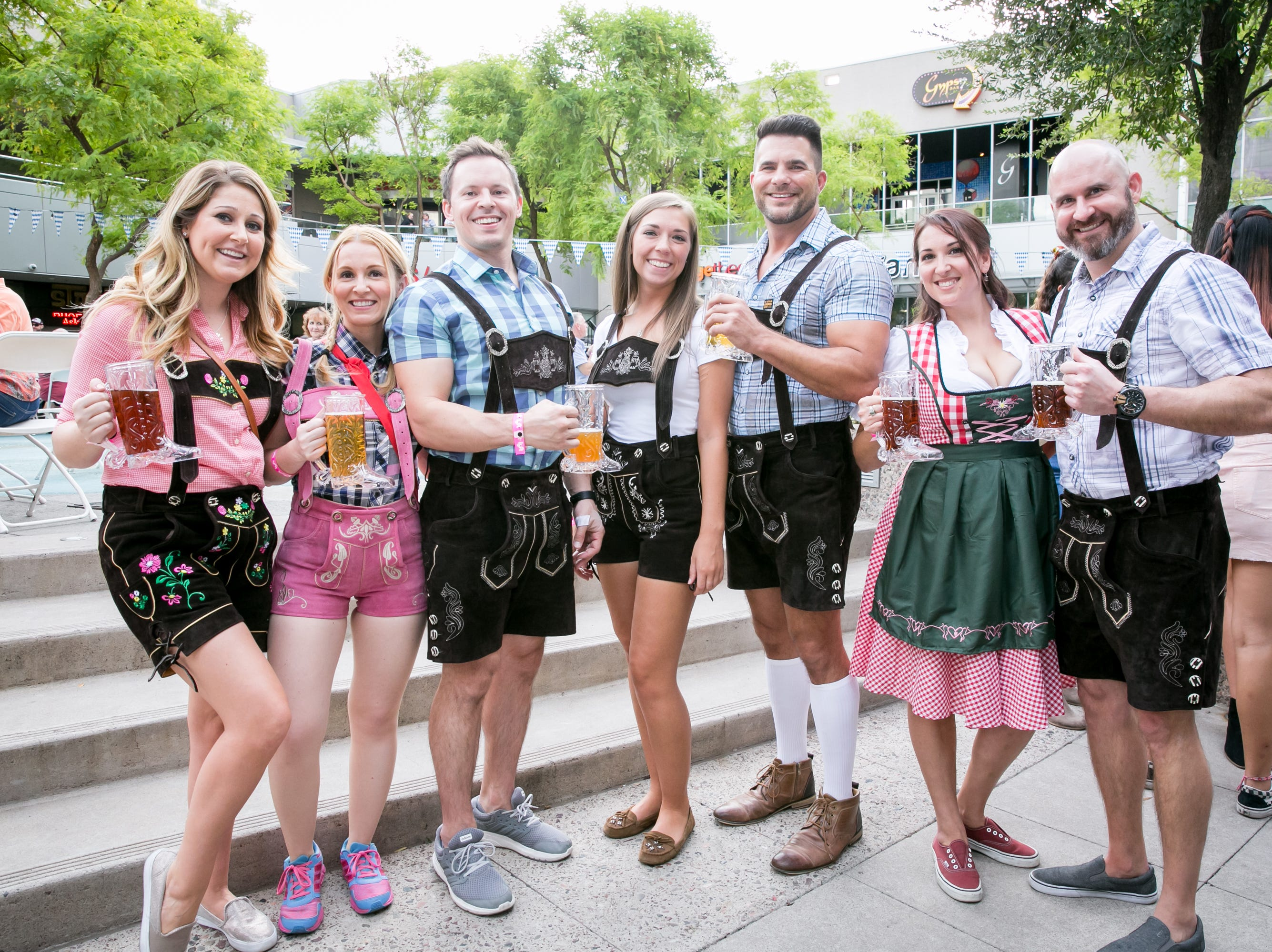 This group looked fantastic for Downtown Phoenix Oktoberfest at CityScape on Saturday, October 6, 2018.