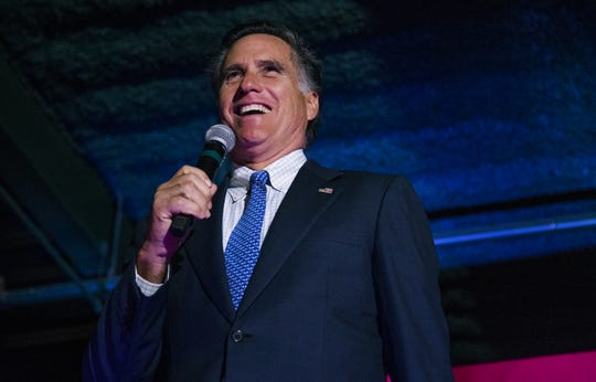 Mitt Romney, the former Massachusetts governor, Republican presidential candidate and U.S. Senate candidate in Utah, will headline a rally for GOP Senate candidate McSally on Friday in the East Valley.