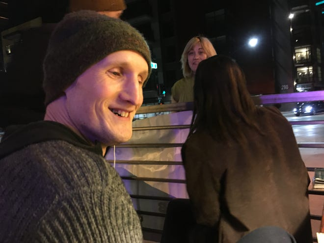 David Bessent (left) was shot Oct. 5, 2018, near Third Avenue and Roosevelt Street.
