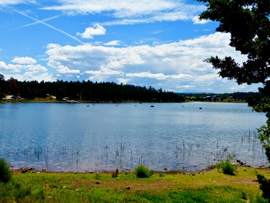 Fool Hollow Lake Recreation Area can be found in the pine forest just outside of Show Low.