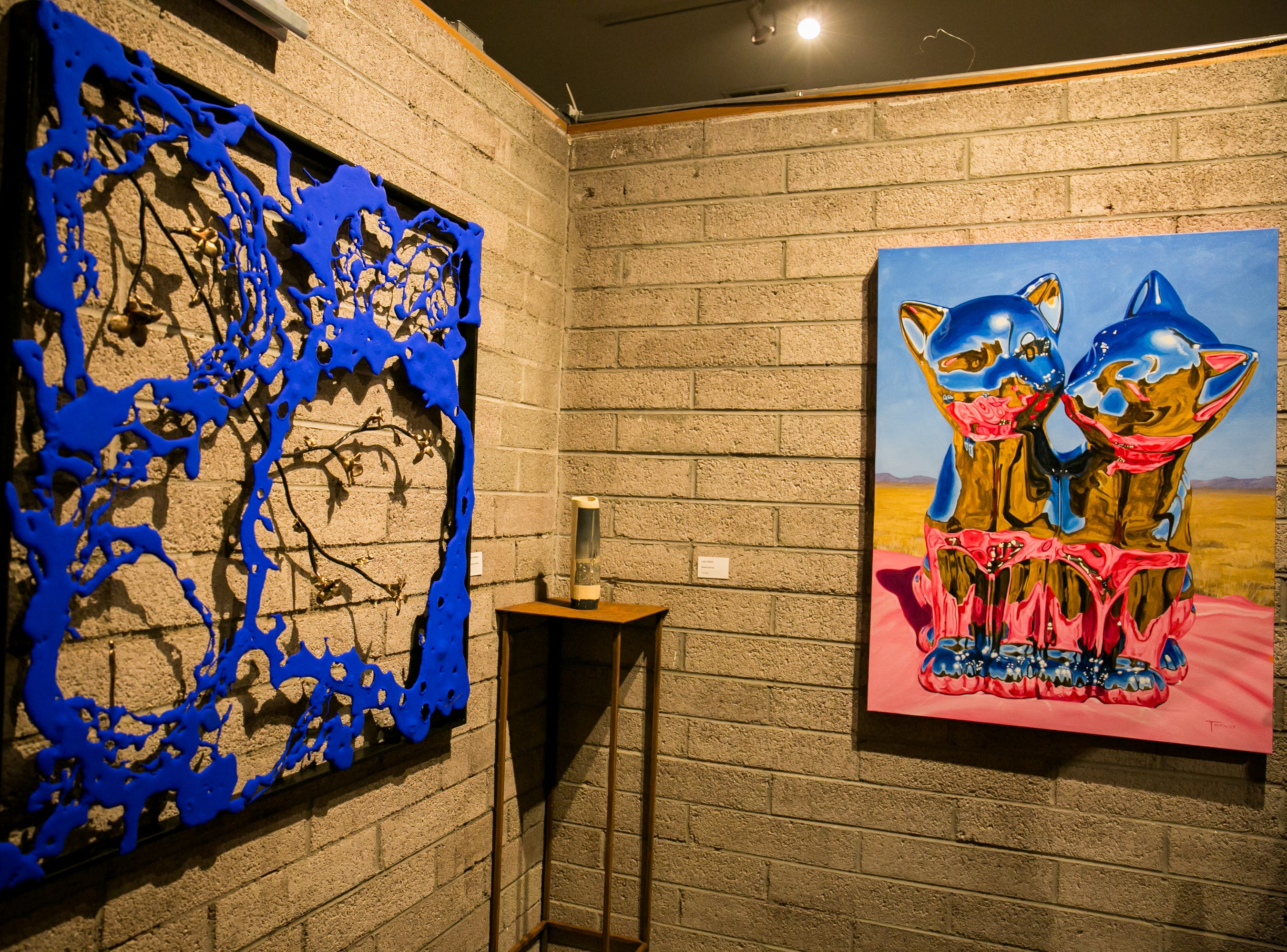 There were stunning pieces around every corner during Chaos Theory 19 at Legend City Studios during First Friday on October 5, 2018.