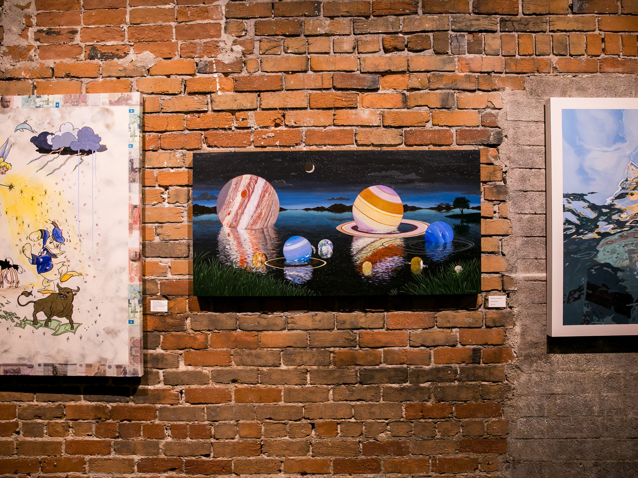 Tons of great work was featured at Chaos Theory 19 at Legend City Studios during First Friday on October 5, 2018.