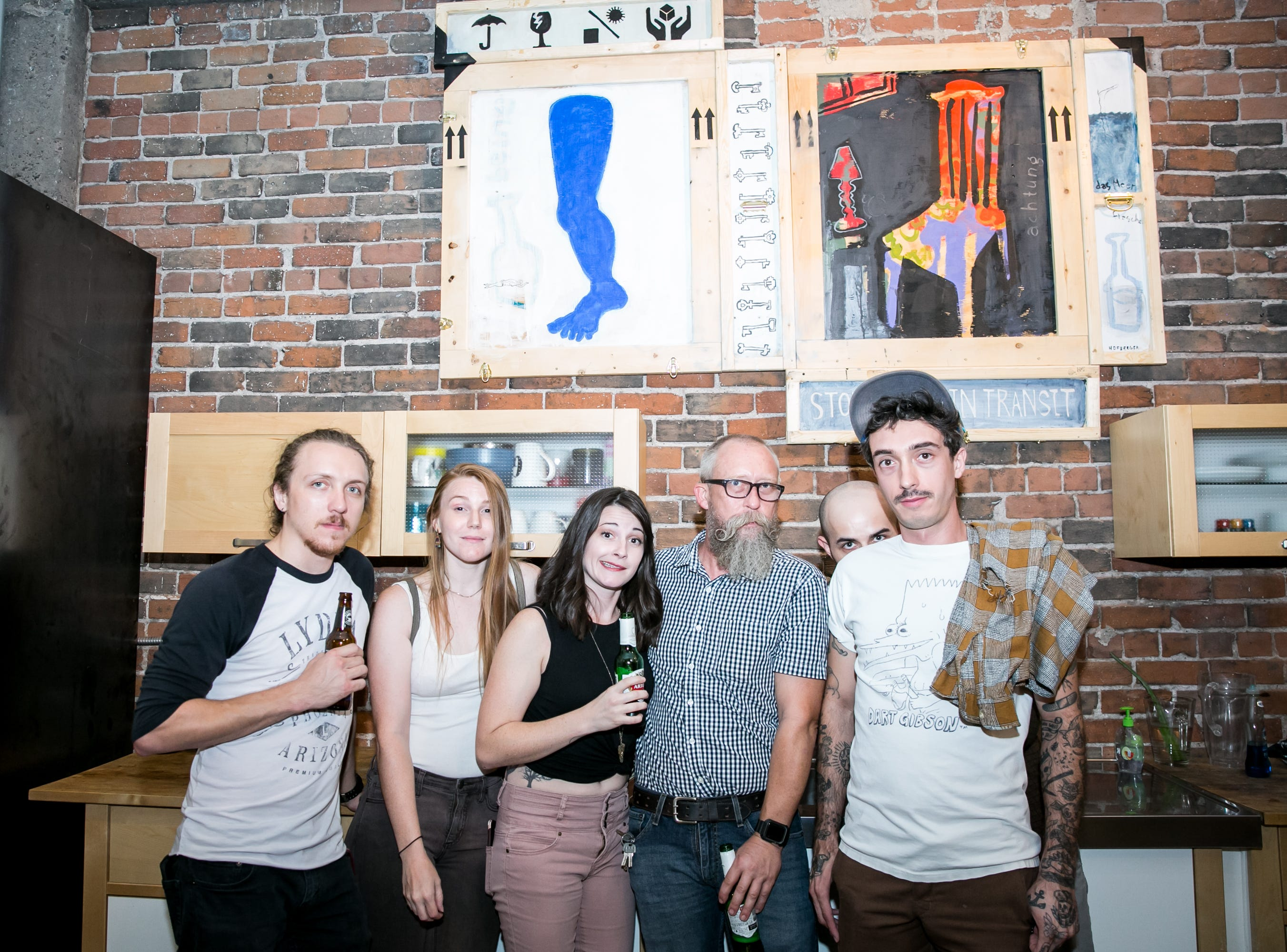 These pals got animated during Chaos Theory 19 at Legend City Studios during First Friday on October 5, 2018.