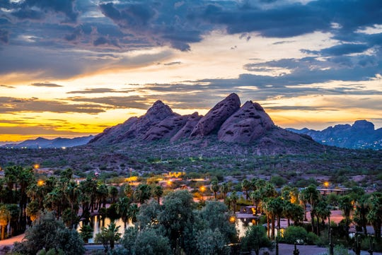 Papago Park provides breathtaking views of the city and beyond.