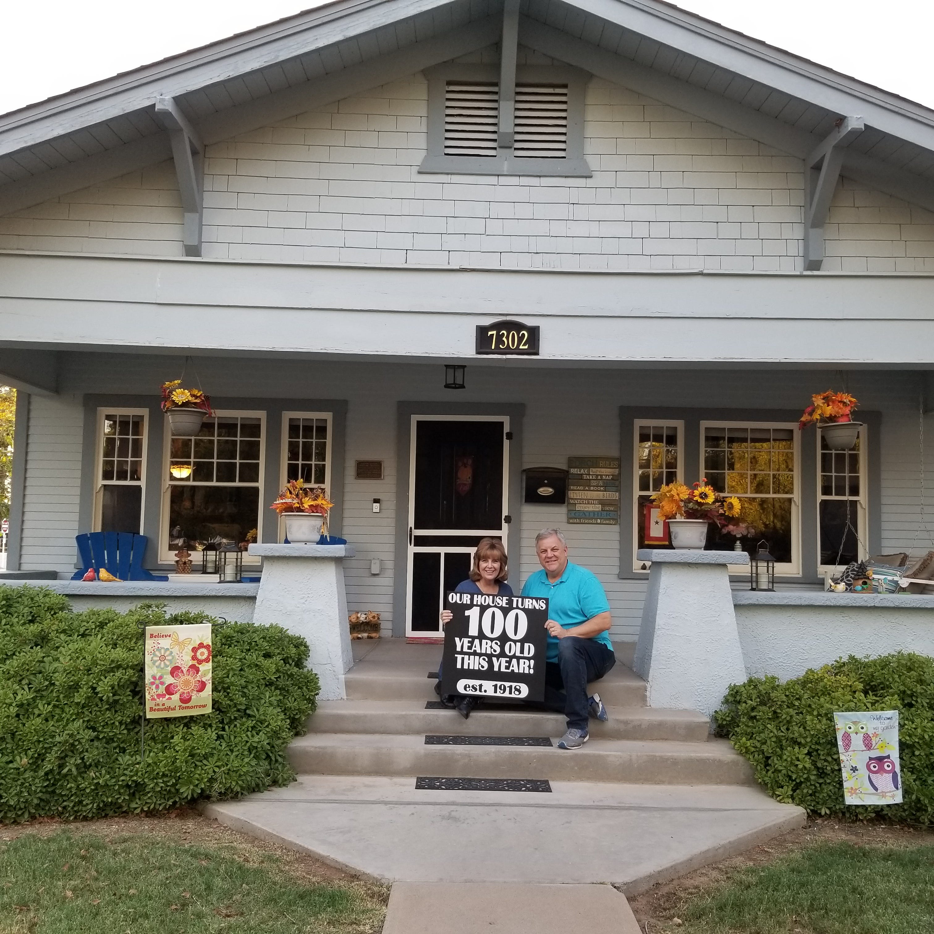 Historic Glendale arts and crafts bungalow celebrates 100th birthday