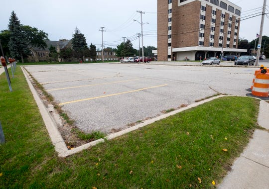The parking lots on the south corners of Pine and Sixth streets will also be resurfaced. The project is expected to be completed by the end of the month.