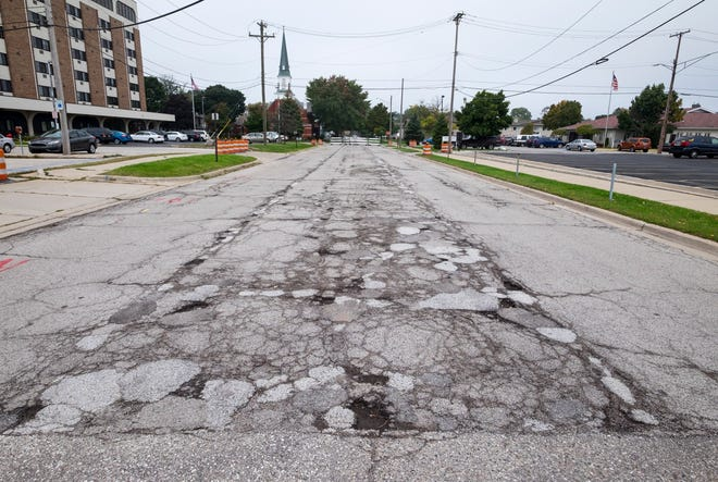 Pine Street is closed between Military and Seventh streets in Port Huron for resurfacing.