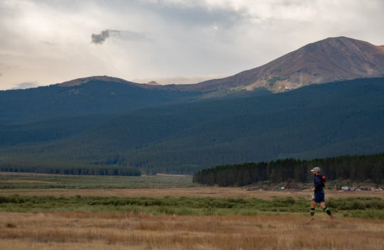 New Paltz's Jason Friedman, 42, placed 34th overall in the Leadville Trail 100 Run in Leadville, Colorado.