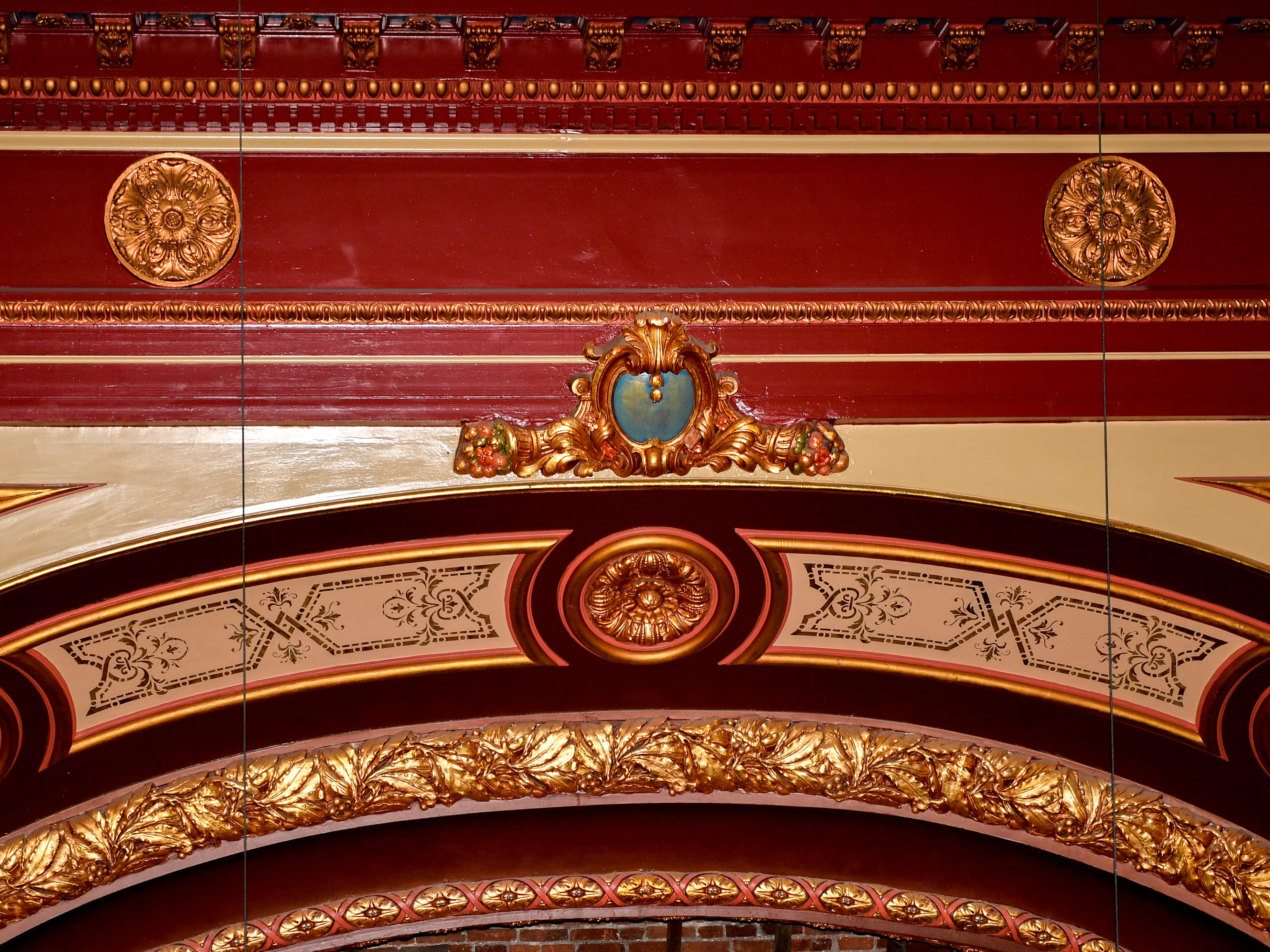Parts of the Capitol Theatre that were uncovered in the renovation process have been restored to look brand new.