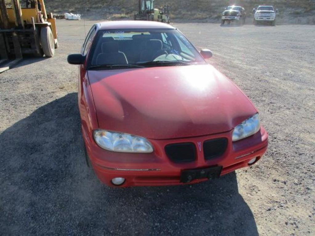 A 1996 Pontiac Grand Am is for sale Saturday, Oct. 13, 2018 at the Nevada government surplus sale at the Tahoe-Reno Industrial Center east of Sparks.