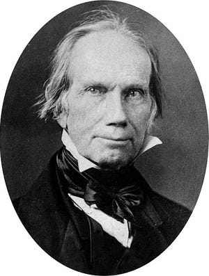 Henry Clay from Kentucky was head of the Whig Party. He unsuccessfully ran for the presidency five times. What he said in Richmond in 1842 inadvertently helped form the Republican Party.