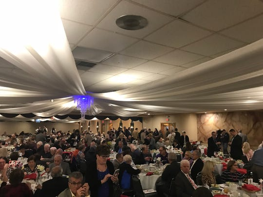 Over 600 people attended Columbus Day luncheon at Diplomat in Gates