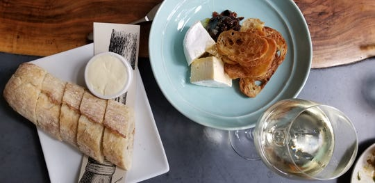 Chaseholm Farms Camembert cheese course, perfect for pairing.