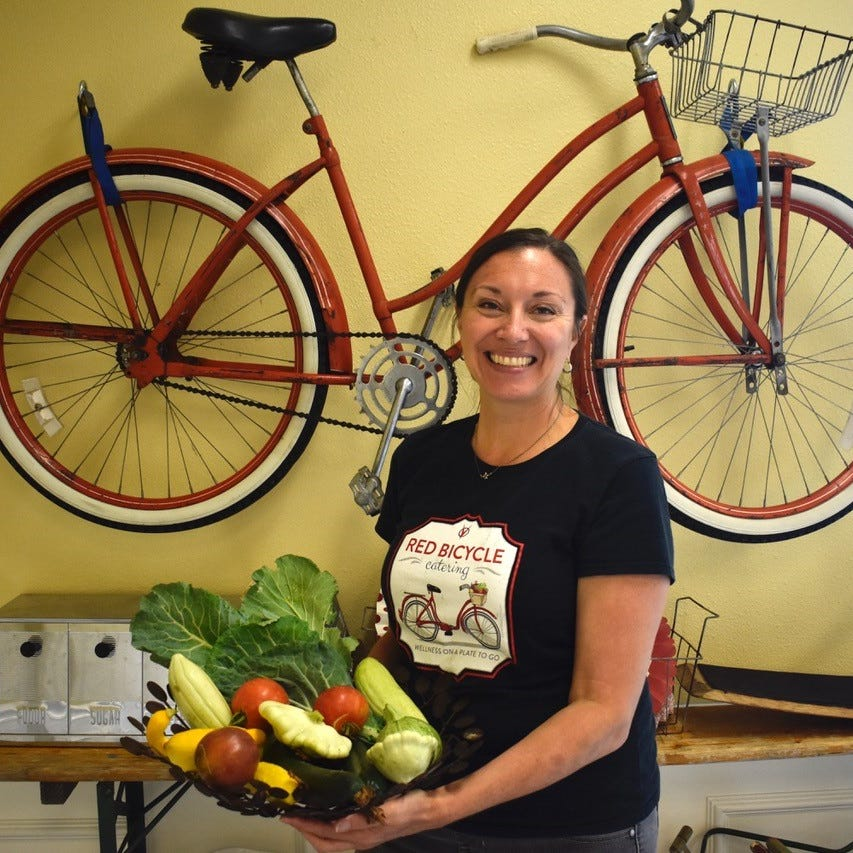 Red Bicycle Catering serves up locally-grown menu