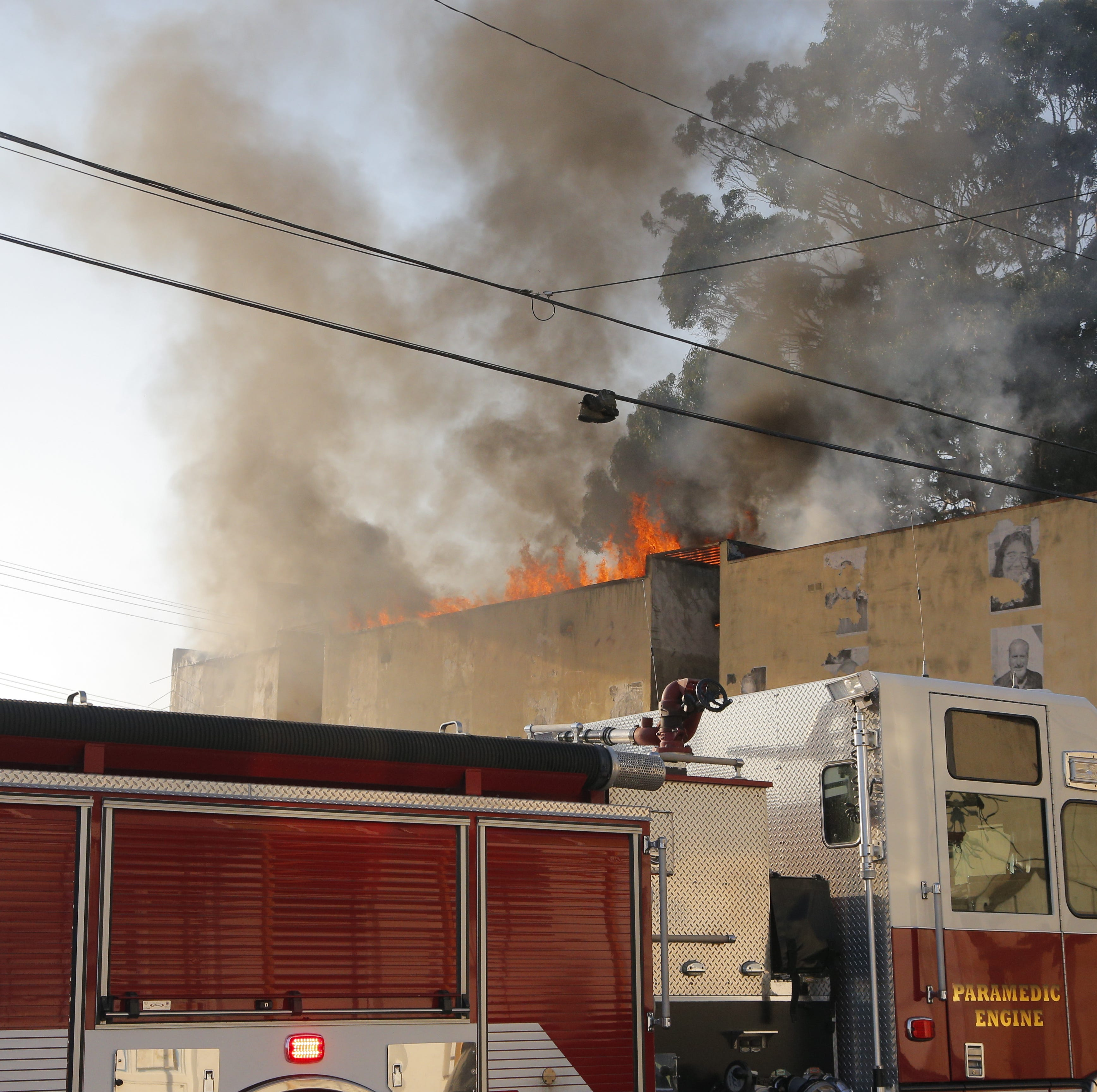 Chinatown fire guts vacant building, but no injuries reported