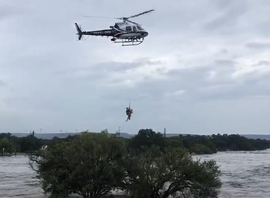 Helicopter Lift Flood