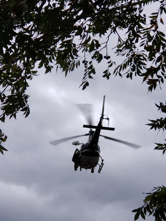 Junction Flooding Helicopter