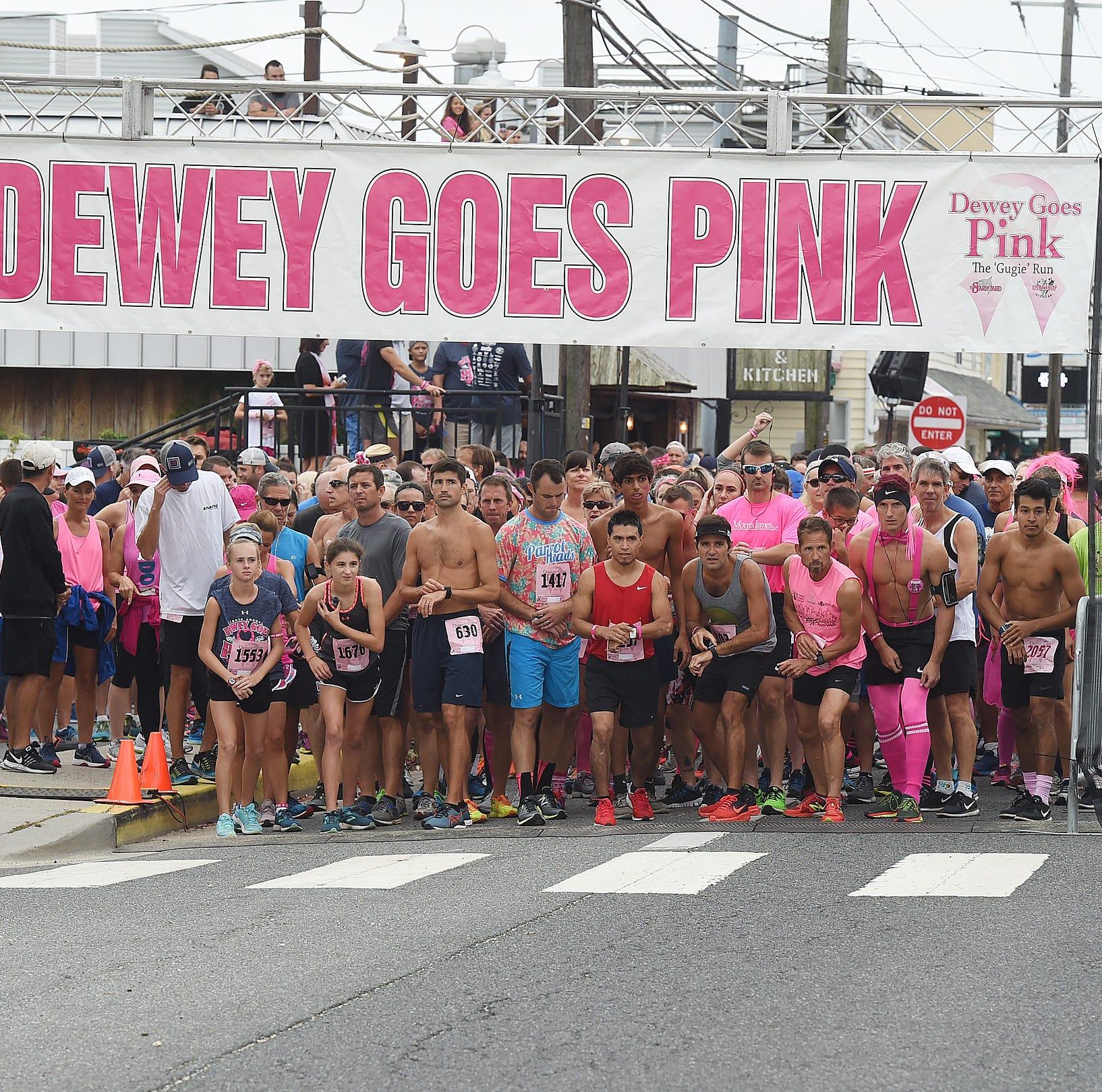 Dewey Goes Pink 5K smashes fundraising record