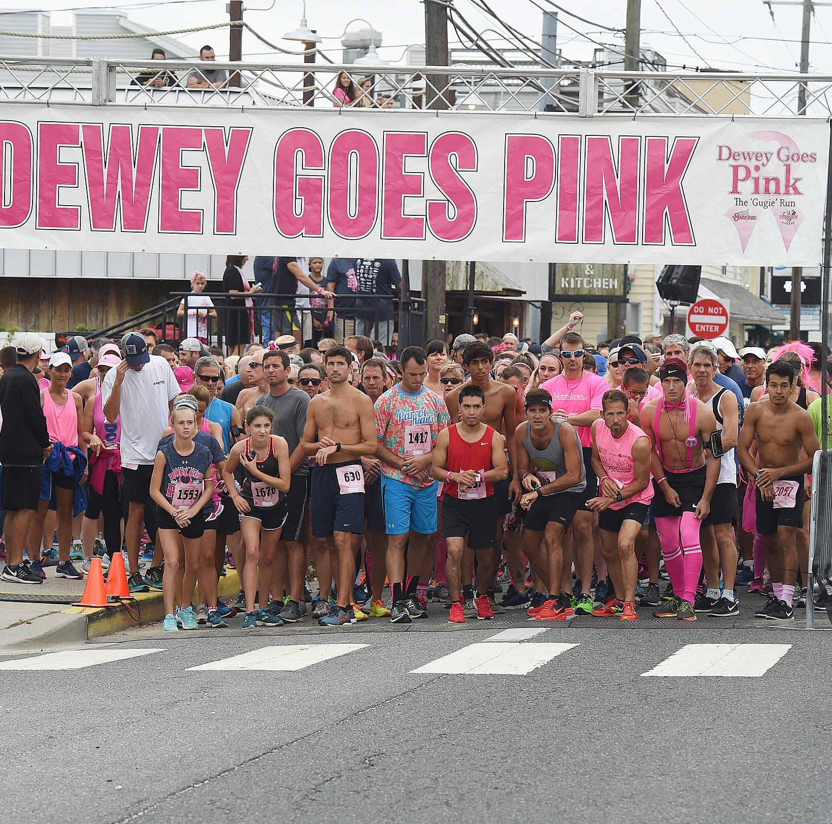 Dewey Goes Pink 5K smashes fundraising record