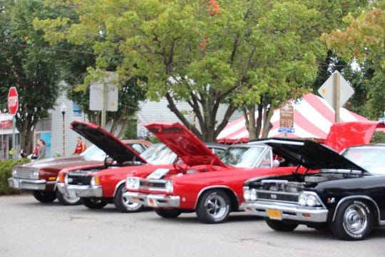 An Antique Car Show, sponsored by the Eastern Shore Cruisers Car Club, will be held as part of the fall festival in Pocomoke City.