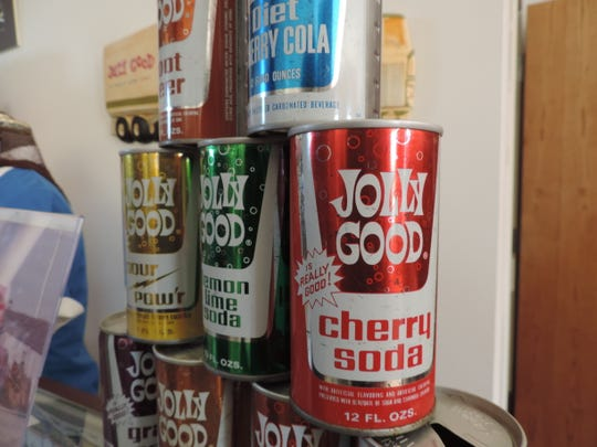 Jolly Good Soda has been produced since the 1970s. Since the brand's relaunch, the design has gotten a sleek upgrade.