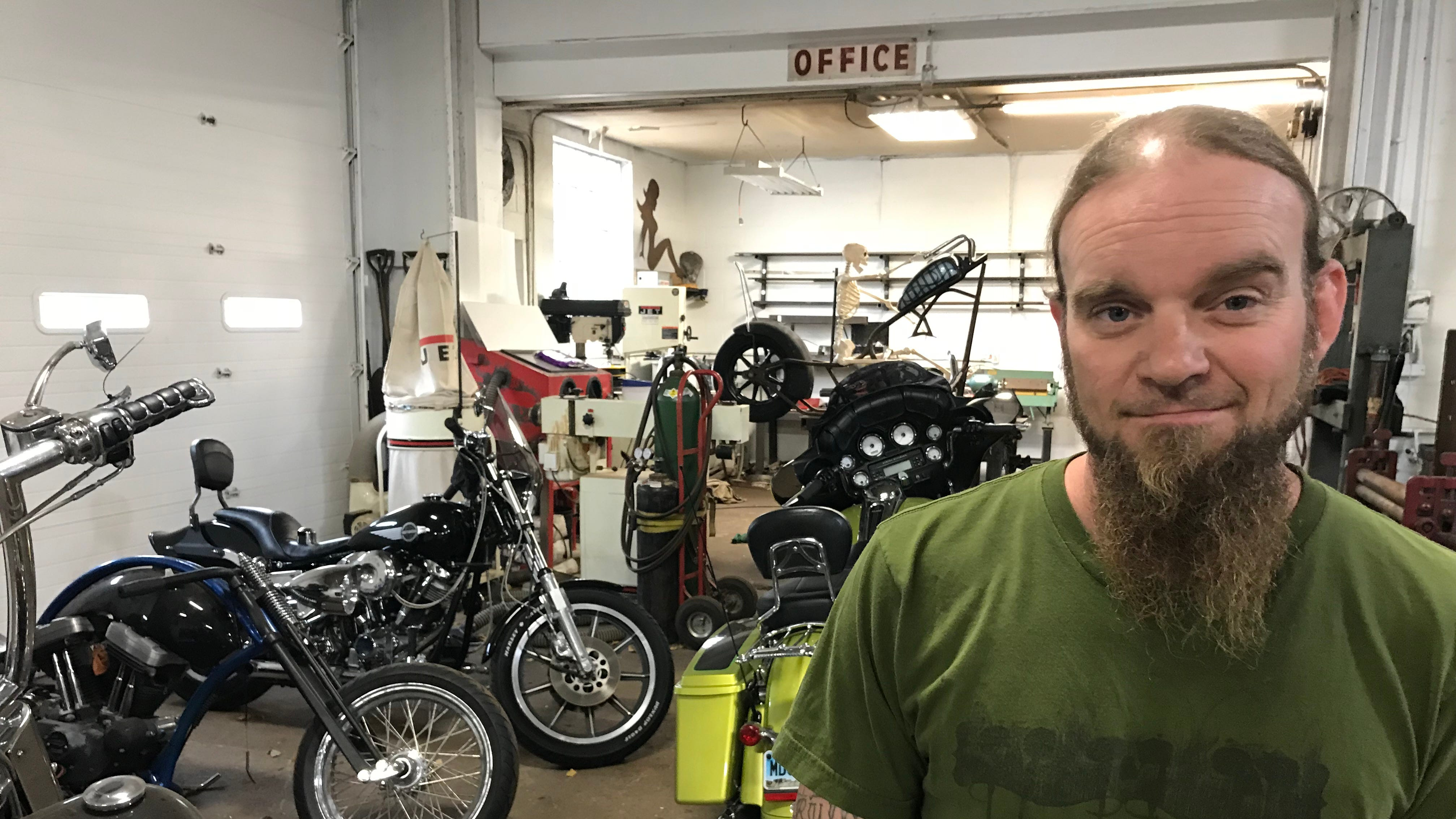 Custom bike shop moves into old Buck's Muffler space