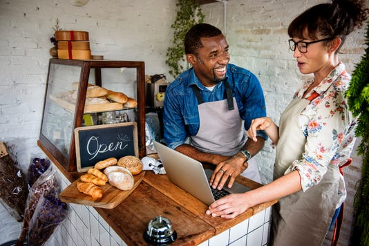 Couple Partnership The Bakehouse With E Busness Online