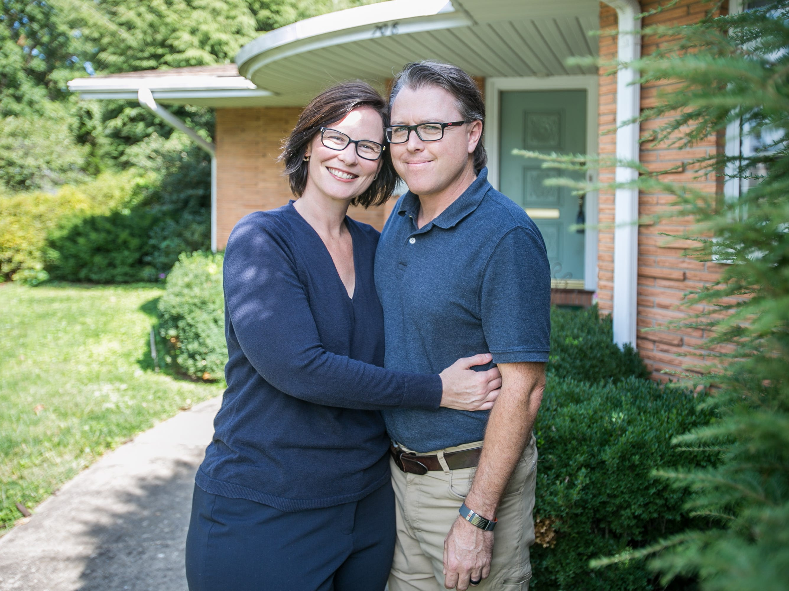 Keri Franklin and Aaron Matkowski love their home just a block south of Phelps Grove Park, but think the time has come to sell.