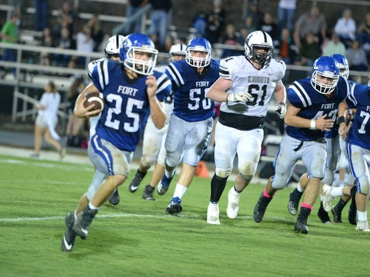 Trevor Bartley and Fort Defiance are making a run for the playoffs after a big win over Turner Ashby Friday night.