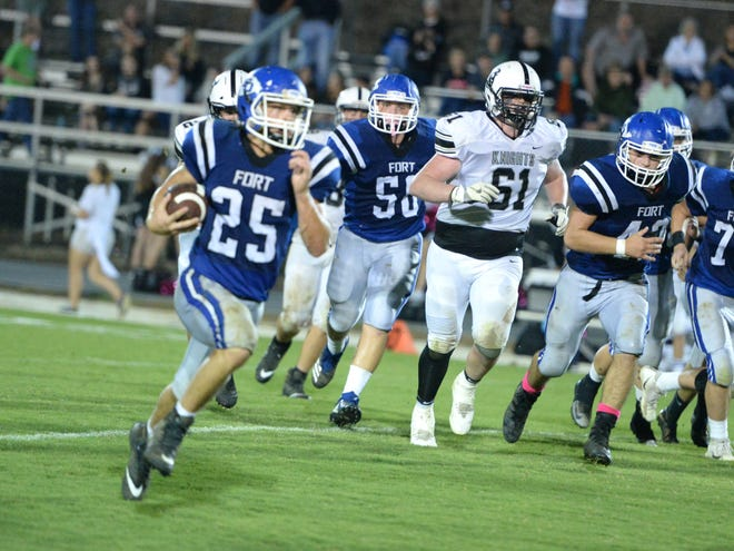 Trevor Bartley, who led Fort Defiance's football team to its fourth win of the season Friday, is the News Leader's Huddle Player of the Weekfor Week 7.