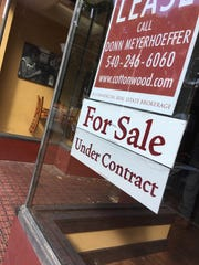 The former Mockingbird in downtown Staunton is under contract after being closed for more than five years.