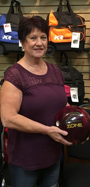 Bev Cormani bowled a 694, the highest series ever recorded by a woman at the Virgin River Bowling Center.