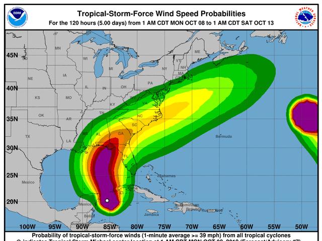 Hurricane Michael forms, Scott warns 'storm will be life