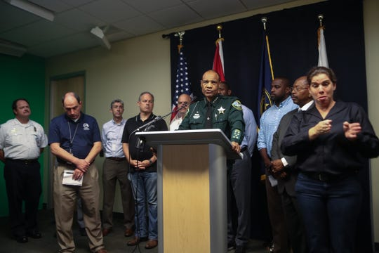as Hurricane Michael heads toward the Florida coast Monday, Oct. 8, 2018.