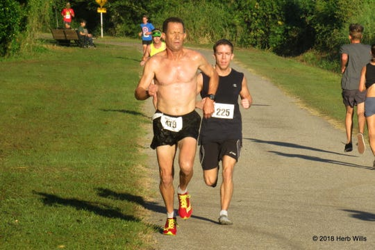 Victory Run 5K with #479 Gary Droze and #225 Kurt Dietrich held Sept. 29.