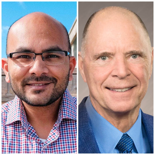 Sanjay Patel (left) and Bill Posey