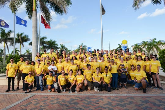 Teams from every Publix Supermarkets store in St. Lucie County volunteered for the United Way of St. Lucie County's Day of Caring.