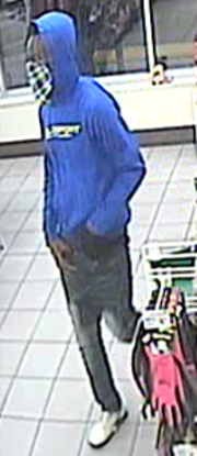 Surveillance footage from a 7-Eleven in Indian River County showed an armed robbery suspect about 5:30 a.m. Oct. 8, 2018.