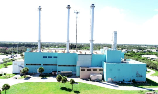 The Vero Beach Power Plant, Sept. 2018.
