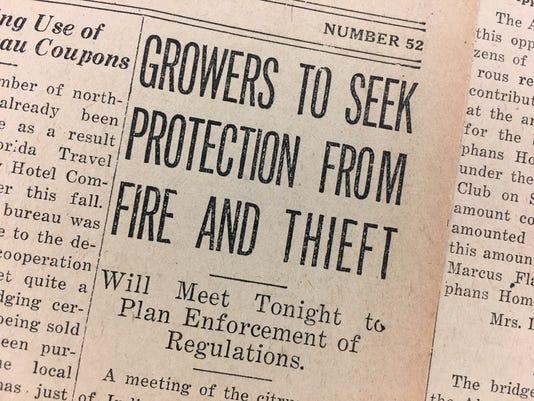 Dec 23 1927 Fruit Thefts