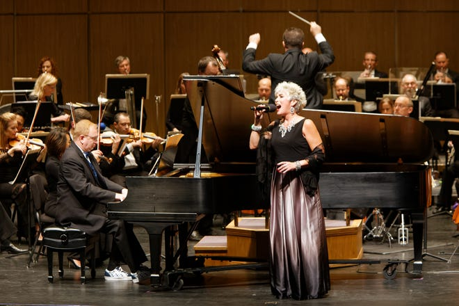 """Soprano Sylvia McNair performs in New West Symphony's season opener """"Rhapsody in Blue."""" The orchestra plays at the Thousand Oaks Civic Arts Center and the Oxnard Performing Arts Center."""