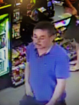 In this security footage, Abel Torres Medero can be seen walking around an Orosi store on Sept. 1, 2018.