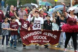 """""""It's Great to Live in Harrison"""" parade on Columbus Day Oct. 8, 2018 in Harrison."""
