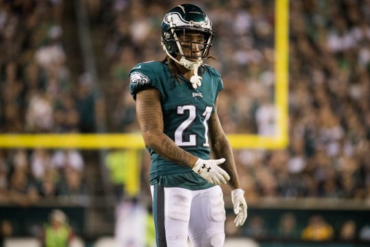 Ronald Darby has played in just 17 games in two seasons with the Eagles, but he does have four interceptions for them. He signed a one-year contract on Friday.