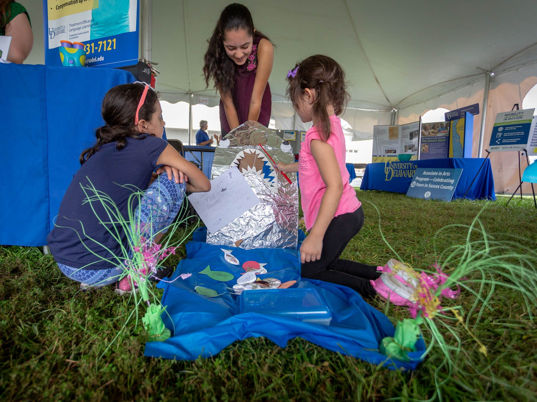 Coast Day showcases how University of Delaware scientists, staff, and students are improving our understanding of ocean environments and serve coastal communities.