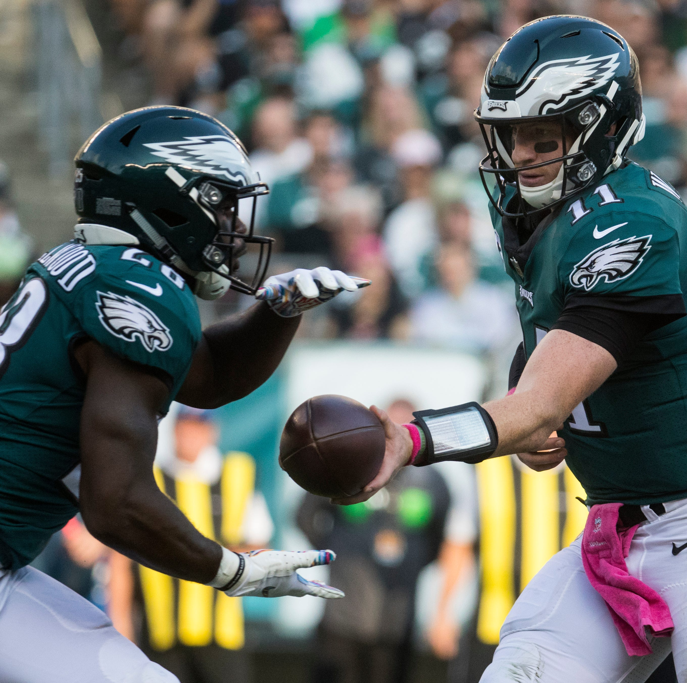 LIVE: Philadelphia Eagles vs. Carolina Panthers
